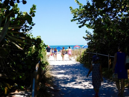 Cape Florida State Park, à Key Biscayne (Miami en Floride)