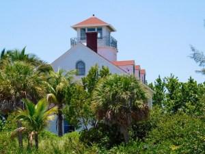 Maison des garde-côtes sur Peanut Island (à West Palm Beach en Floride)