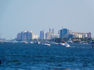 La ville de West Palm Beach en Floride.