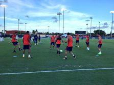 PSG Entrainement - Miami