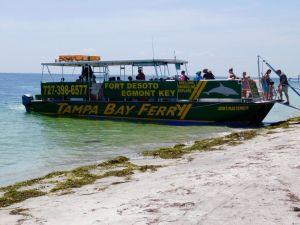 Le ferry pour rejoindre Egmont Key à St Petersburg en Floride.
