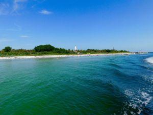 Ile d'Egmont Key en Floride