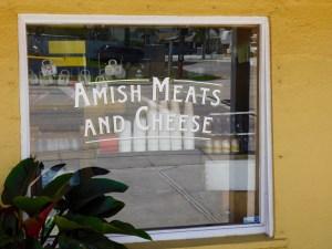 Marché au Yoder's Amish Village de Pinecraft, à Sarasota.