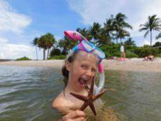 Etoile de mer à Peanut Island (Palm Beach - Floride)