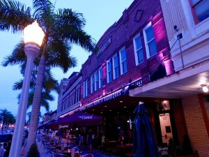 River District : le centre ville de Fort Myers (Floride)