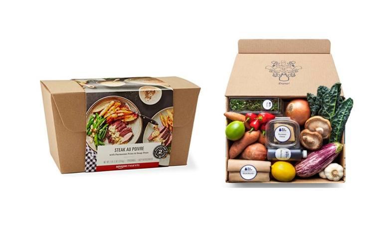 """Le """"meal kit"""" (à cuisiner chez soi) devient de plus en plus populaire aux Etats-Unis."""