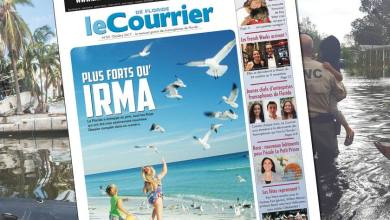 Photo of Le Courrier de Floride d'Octobre 2017 est sorti !