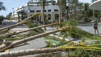 L'ouragan Irma à MIami.