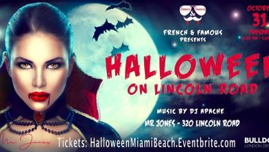 Photo of Halloween « French & Famous » à Miami Beach (au club « Mr Jones »)