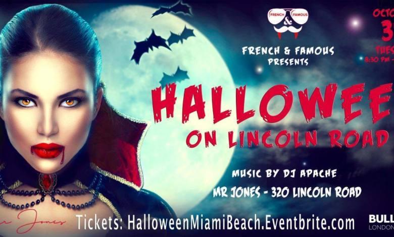 """Halloween """"French & Famous"""" à Miami Beach (au club """"Mr Jones"""")"""