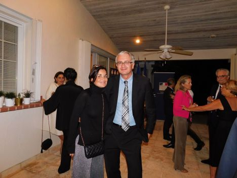 Rencontre de l'ambassadeur de France Gérard Araud avec des Français de Miami