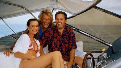 Johnny Hallyday et Laeticia à Miami