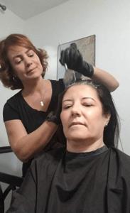 Mariana coiffure à domicile Miami