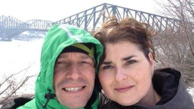 Sophie-Kim Bazinet et son conjoint.