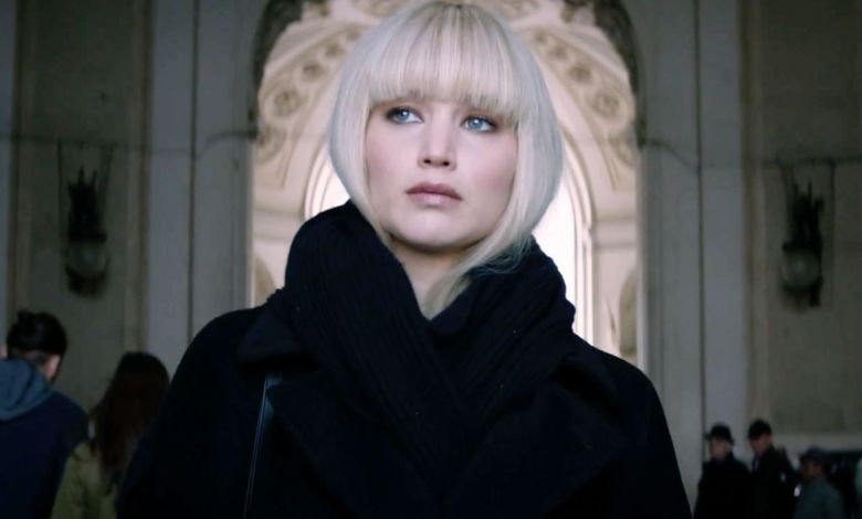 Jennifer Lawrence à l'affiche du Film Red Sparrow