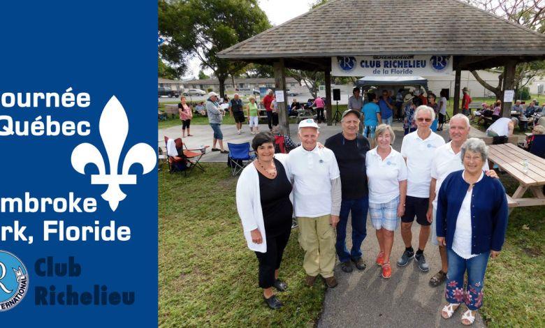 Journée du Québec du Club Richelieu à Pembroke Park en Floride