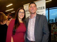 Maria-Rosa Rosarini et Michael Côté, directrice et président de Natbank, au gala 2018 de la FACC Miami