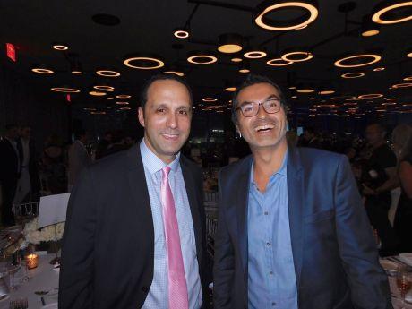 Glenn Cooper (pdt Chambre Québec-Floride) et Jean-David Ganem (experts-comptables Vivies & Panem) au Gala 2018 de la FACC Miami