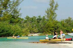 Bahamas Grand Bahama - Lucayan National Park - Kayak