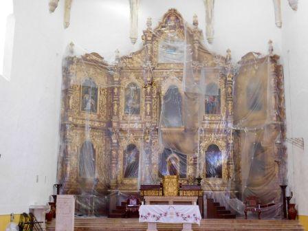 Monastère de San Antonio de Padua à Izamal : la ville jaune du Yucatan (Mexique)