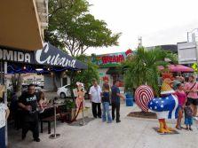 Little Havana, le quartier cubain de Miami.