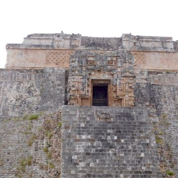 La pyramide du Devin à Uxmal