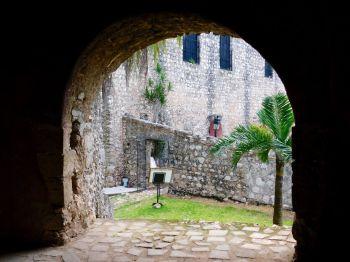 Convent San Bernardino de Siena à Valladolid dans le Yucatan