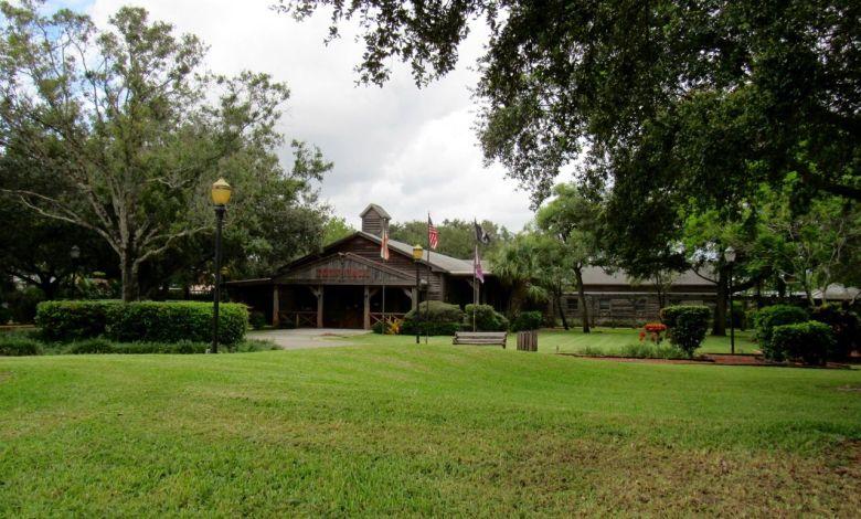 Hôtel de ville de Davie en Floride.