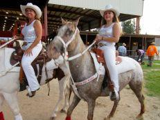 Cavaliers en Davie Pro Rodeo en Davie, Florida