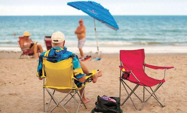 L'Amour à la plage, film sur les Snowbirds Québécois en Floride