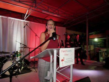 La directrice de la FACC, Pascale Villet, était l'organisatrice de la soirée