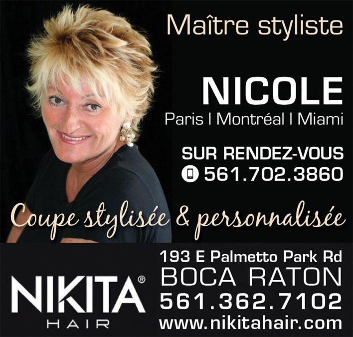 Nicole Pietri / Coiffeuse styliste à Boca Raton en Floride