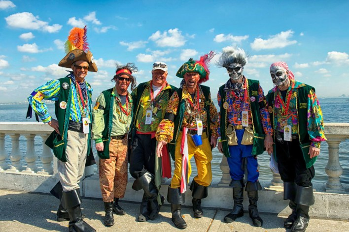 The Gasparilla Pirate Festival