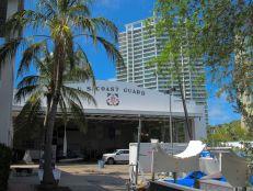 Le bâtiment de l'US Coast Guard de Coconut Grove date de 1932, conçu au départ pour abriter un hydravion.