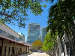 Le quartier de Coconut Grove à Miami