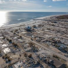 Mexico Beach en Floride