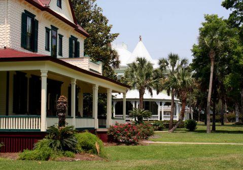 Vieilles maisons à Apalachicola