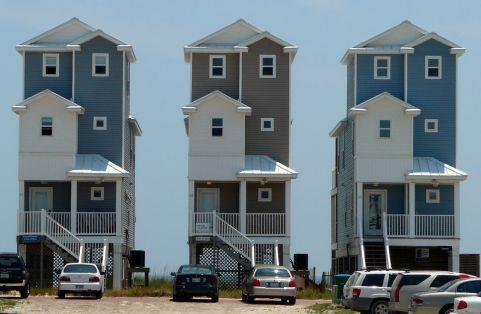 Maisons sur St George Island