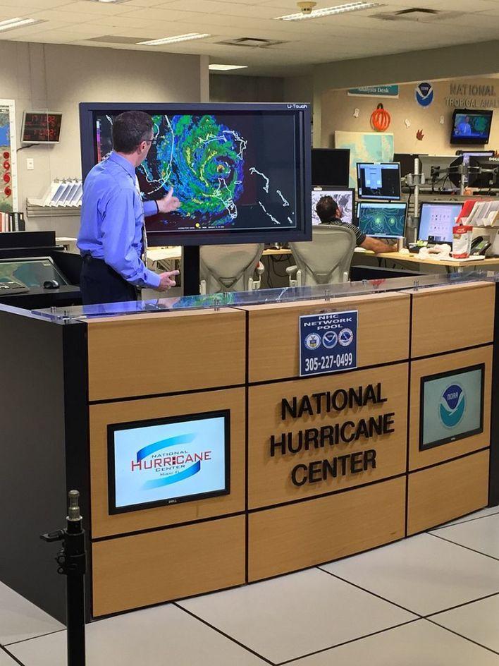 National Hurricane Center de Miami