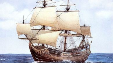 Photo de Sir John Hawkins (suite de notre roman historique « Terre d'Espérance » sur l'arrivée des Français en Floride)