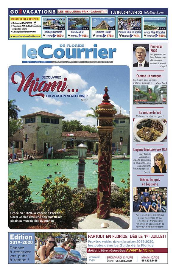 Le Courrier de Floride N°71 de Juin 2019