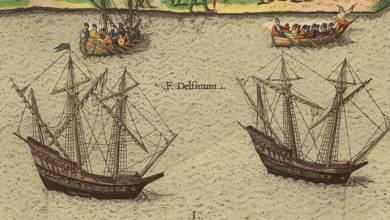 Photo de Ribault arrive!  (suite de notre roman historique «Terre d'Espérance» sur l'arrivée des Français en Floride)
