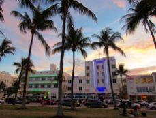 Ocean Drive à South Beach / Miami Beach