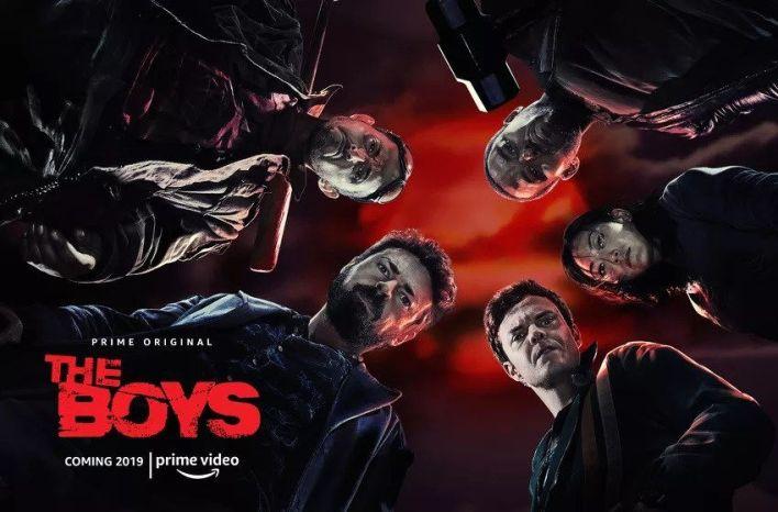 série The Boys sur Amazon Prime