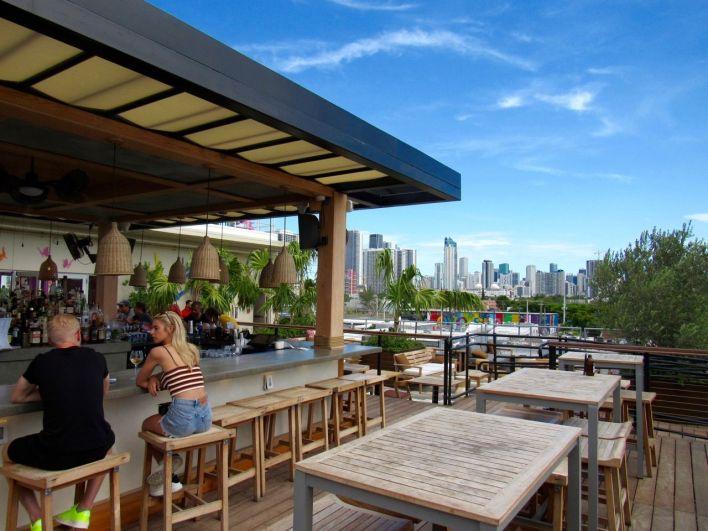 Le restaurant Astra dans le quartier de Wynwood à Miami