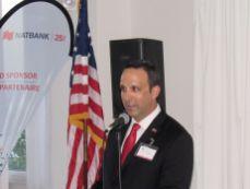 Glenn Cooper à la Fête nationale du Canada en Floride organisé à Fort Lauderdale par la Chambre de Commerce Canada-Floride