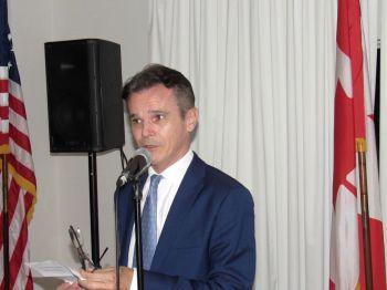 Jean-Pierre Hammel à la Fête nationale du Canada en Floride organisé à Fort Lauderdale par la Chambre de Commerce Canada-Floride