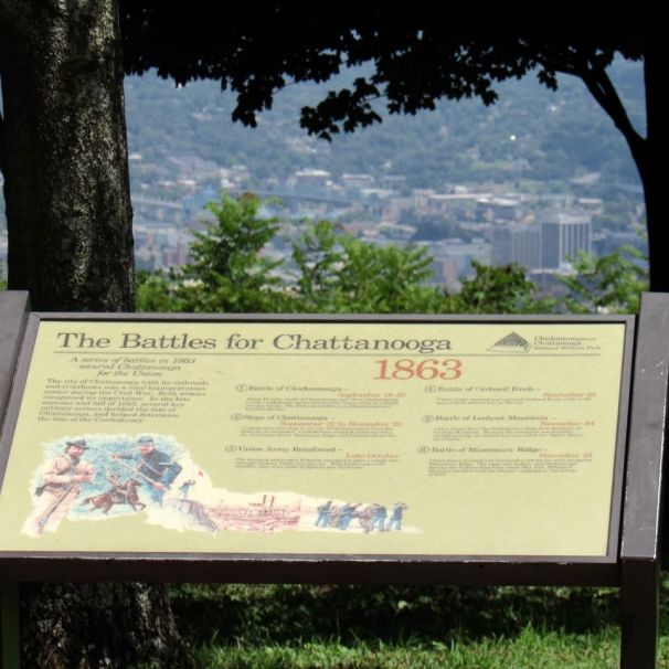 """Point Park et """"la bataille au dessus des nuages"""" (Lookout Mountain)"""