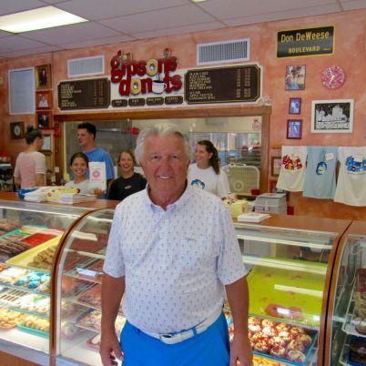 Les fameux Gibson Donuts de Memphis.