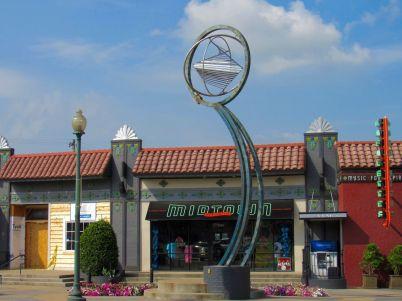 Le quartier d'Overton à Memphis.